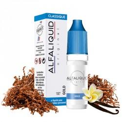 E-liquide Gold 10ml - Alfaliquid