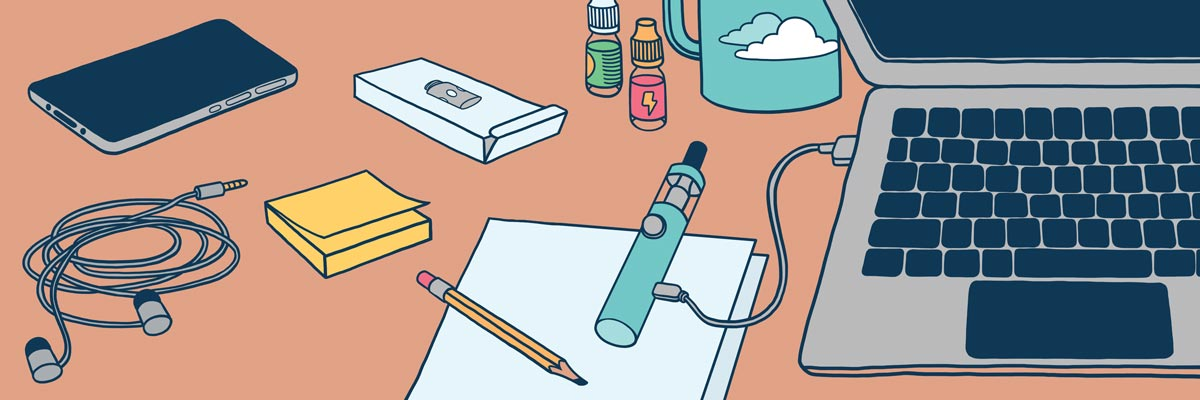 l'esthétique et la forme de votre cigarette électronique